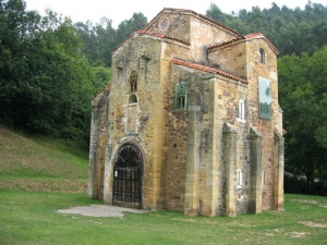 Estilo Arquitectónico Arquitectura Asturiana Iglesia San Miguel de Lillo