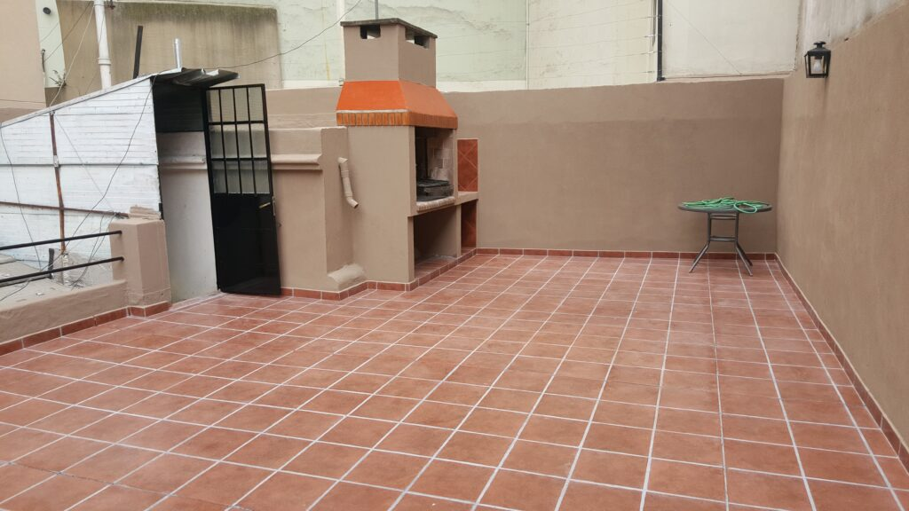Impermeabilizar terraza sin quitar baldosas  existentes